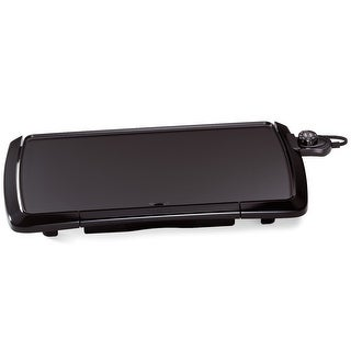 "Presto 07030 Electric Griddle Cool Touch, 10-1/2"" x 20-1/2"", 150 Watts"