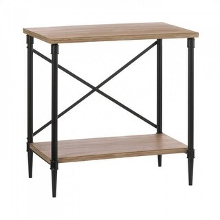 Sleek and Modern Industrial Style Console Table