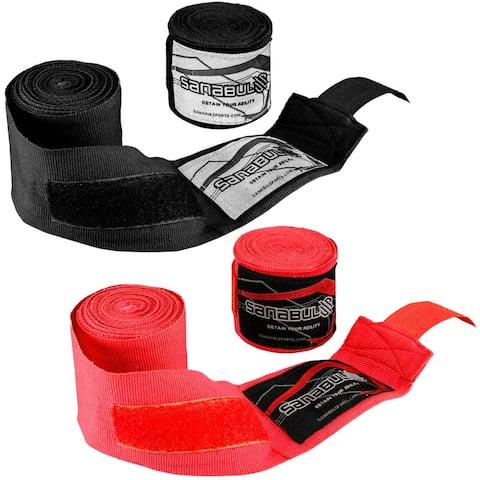 "Sanabul Professional 180"" Elastic Boxing and MMA Handwraps"