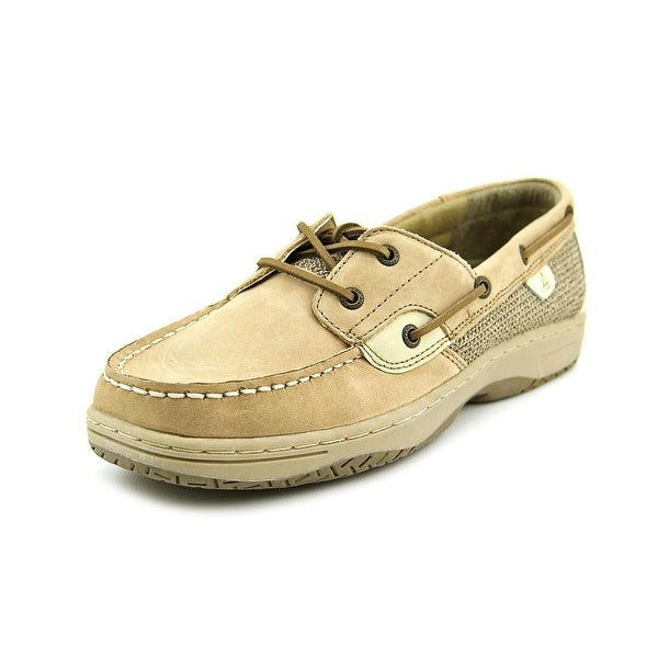 Sperry Top Sider Bluefish Youth Moc Toe Leather Tan Boat Shoe