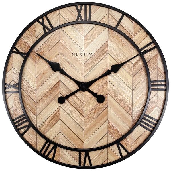 NeXtime Roman Vintage Wall Clock. Opens flyout.