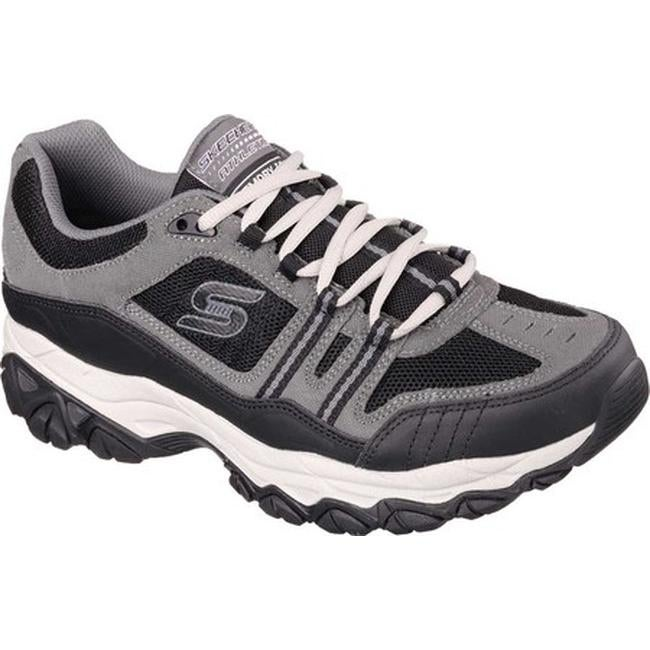 081d79ebc25d Shop Skechers Men s After Burn Memory Fit Strike Off Sneaker Charcoal Black  - Free Shipping Today - Overstock - 10211258