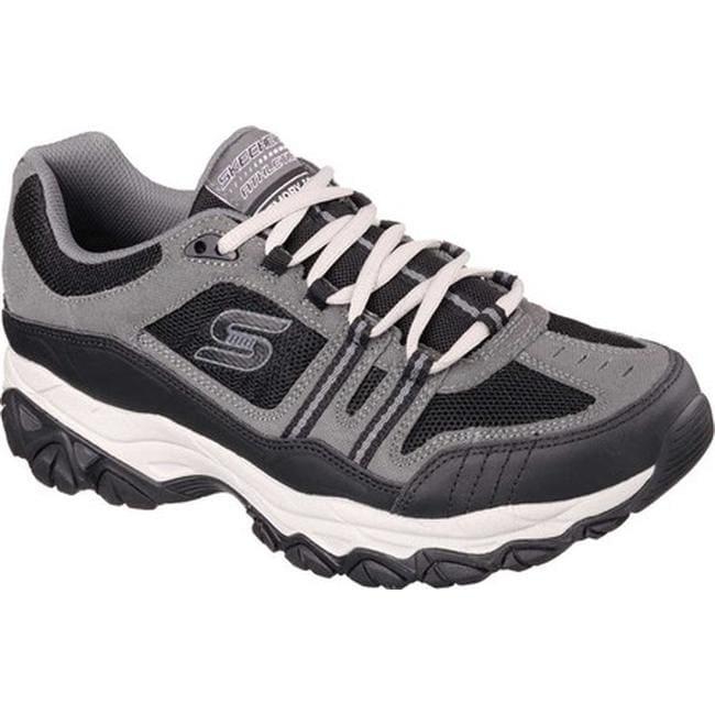8631f5f75f7 Skechers Men's After Burn Memory Fit Strike Off Sneaker Charcoal/Black
