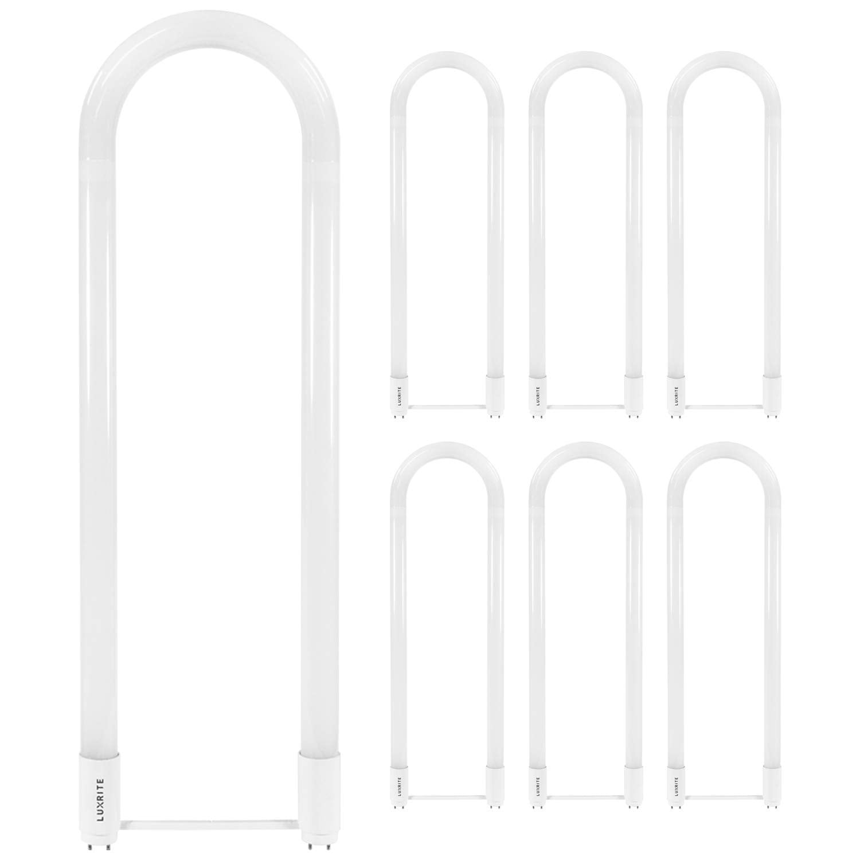 40w Replacement 2x2FT Romwish 18W U Bend LED Bulbs 6000K 10 Packs