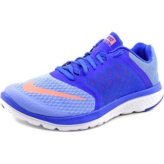 Nike Fs Lite Run 3 Women Round Toe Synthetic Blue Sneakers