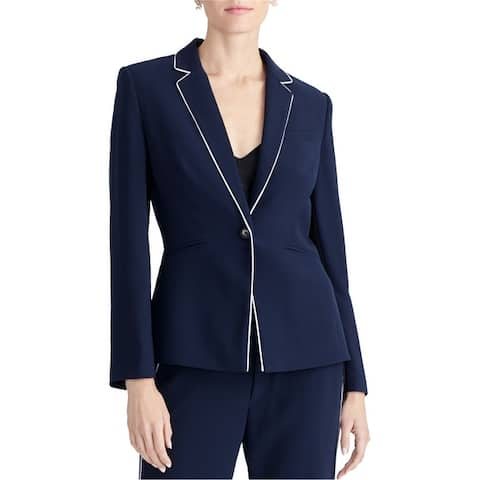 Rachel Roy Womens Halo One Button Blazer Jacket
