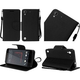 Insten Leather Case Cover Lanyard with Stand For HTC Desire 530