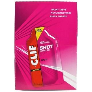Clif Shot Gel Raspberry (Box of 24)