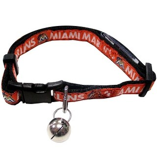 MLB Miami Marlins Cat Collar