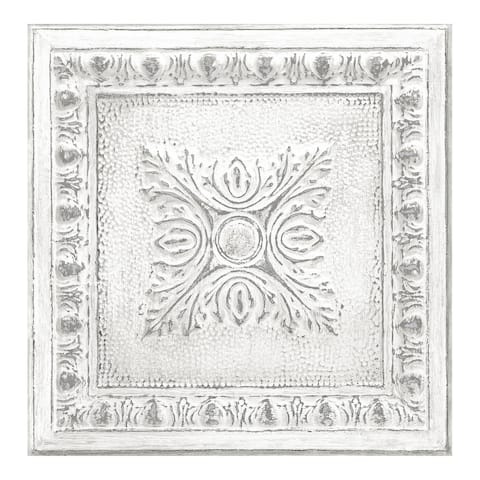 Reclaimed Tin Peel & Stick Wallpaper - 216in x 20.5in x 0.025in