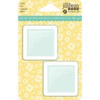 Jillibean Soup PVC Card Shakers 6/Pkg-Square