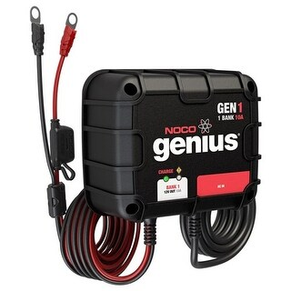 Noco Genius Gen1 10A Onboard Battery Charger - 1 Bank Onboard Battery Charger