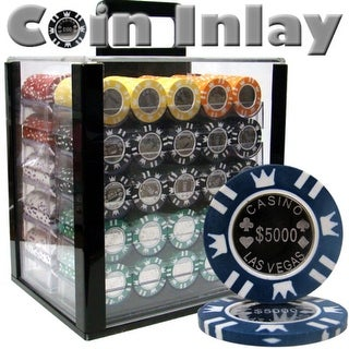 1000 Ct Acrylic Custom Breakout - Coin Inlay 15 Gram Chips