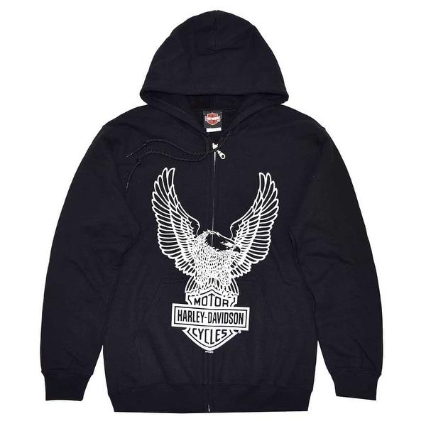 de14c6fc19 Shop Harley-Davidson Men s Eagle Hoodie