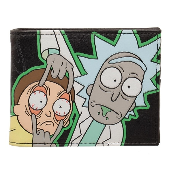 Rick and Morty Glow in the Dark Bi-Fold Wallet