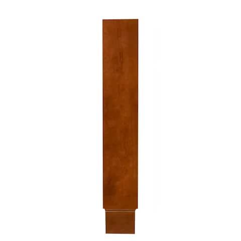 """Sunny Wood CB34EF Cambrian 34"""" Wall Filler Strip - Medium Maple"""