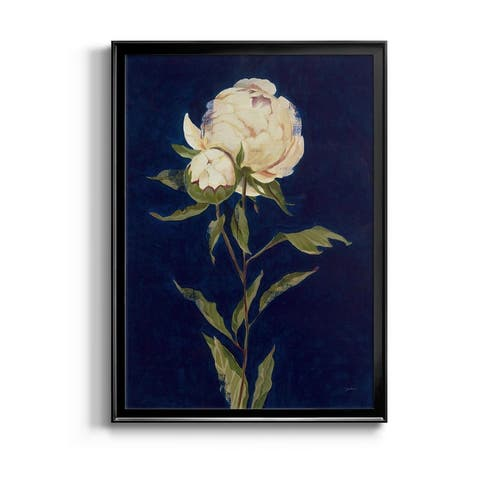 Pretty as a Peony II Premium Framed Canvas - Ready to Hang