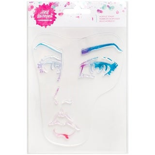 Jane Davenport Mixed Media Acrylic Stamps-Single Face