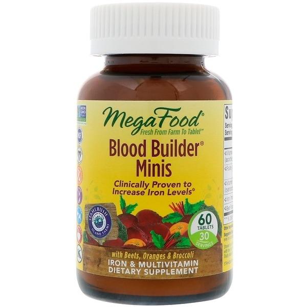 MegaFood Blood Builder Minis Iron Multivitamin - 60 Tablets