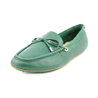 Isaac Mizrahi Anabell Women Moc Toe Leather Loafer