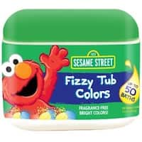 Sesame Street Fizzy Tub Colors Tablets 50 ea