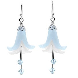 Annabelle Earrings (Blue) - Exclusive Beadaholique Jewelry Kit