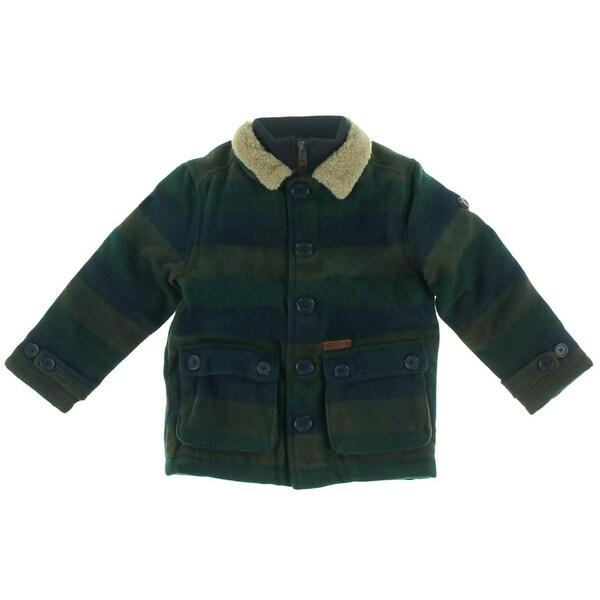 Ben Sherman Boys Toddler Sweater Fleece Jacket