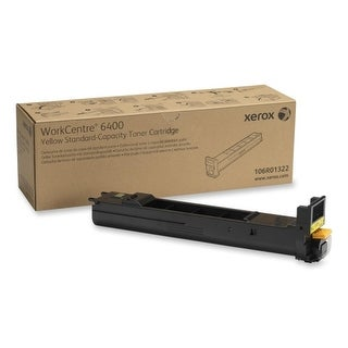 Xerox 106R01322 Xerox Standard Capacity Yellow Toner Cartridge - Yellow - Laser - 1 Each