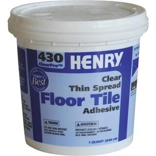 Henry, W.W. Co. Qt H430 Vct Tl Adhesive 12097 Unit: EACH