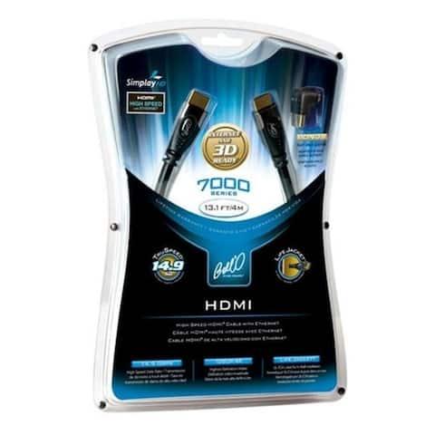 Bello International Llc Hd7102 6.6 Ft. 7100 Series Hdmi High-Speed Digital Audio-Video Cables - Black