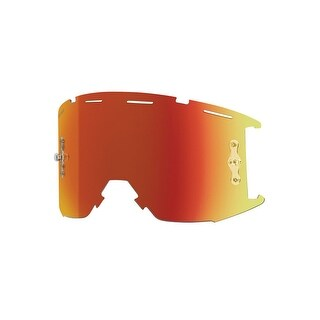 Smith Optics 2016 Squad MTB Off Road Goggle - Replacement Lens - ChromaPop Everyday Red Mirror - SQB1CPE