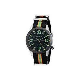Electric Mens Black Green Watch FW01 Nato, EW0010020039