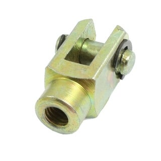 Unique Bargains M6 Female 6mm Dia Lock Pin Metal Cylinder Mounting Piston Rod Clevis Joint