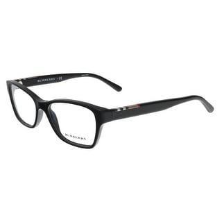 Burberry BE2144F 3001 Black Rectangular Optical Frame