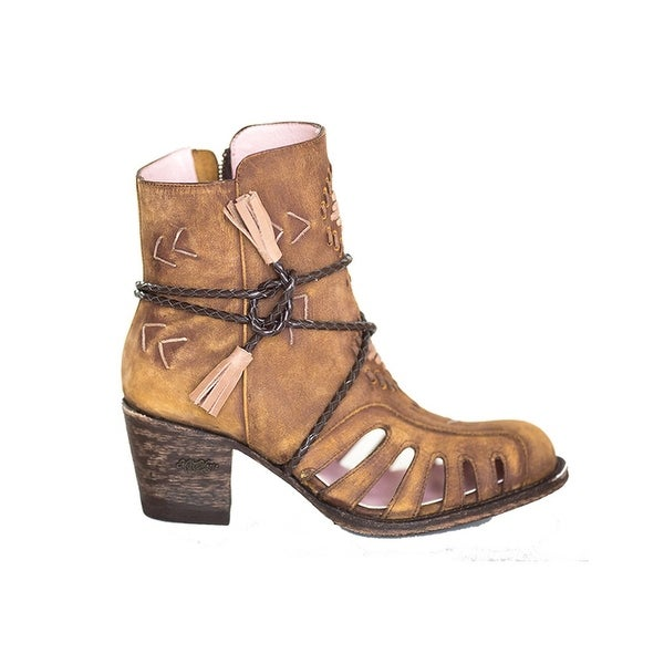 Miss Macie Fashion Boots Womens Singing Willow Ankle Caramel