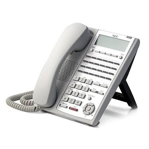 NEC 1100062 (White) Digital 24-Button Telephone