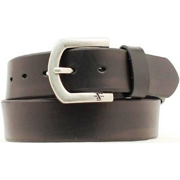 Nocona Western Belt Mens Leather HD Extreme Basic Black