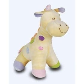 Russ Baby Bow Giraffe Stuffed-Animal