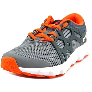 Reebok Hexaffect Run Youth Round Toe Synthetic Gray Sneakers