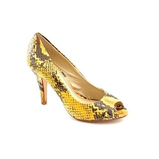 Chinese Laundry Count Down Women Peep-Toe Leather Heels