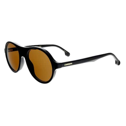 446d5c43c2412 Carrera 142 S 0807 70 Black Round Sunglasses - 50-20-145
