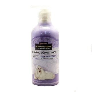 Alpha Dog Series Shampoo & Conditioner - (Bright White Formula)