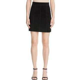 Bardot Womens A-Line Skirt Suede Leather|https://ak1.ostkcdn.com/images/products/is/images/direct/38bdc396c20f977b3b930b05ae4a4fa07e01cf5c/Bardot-Womens-A-Line-Skirt-Above-Knee-Suede.jpg?impolicy=medium