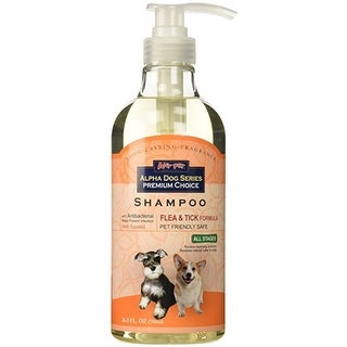 Alpha Dog Series Shampoo & Conditioner - (Flea & Tick Formula)