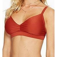 Body Glove Brown Womens Size Medium M Strappy Bikini Top Swimwear