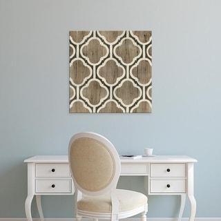 Easy Art Prints June Erica Vess's 'Driftwood Geometry VI' Premium Canvas Art