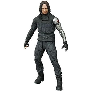 "Captain America: Civil War 7"" Marvel Select Action Figure: Winter Soldier