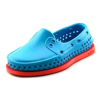 Native Howard Child Infant Round Toe Synthetic Blue Loafer