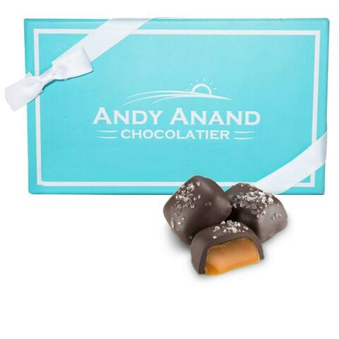 Andy Anand Sugar Free Dark Chocolate Caramel with Sea Salt 1 lbs