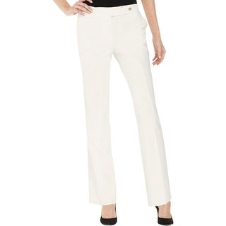 Calvin Klein Womens Dress Pants Classic Fit Solid
